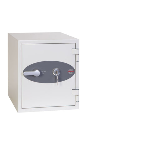 Phoenix Titan Single Shelve White Fireproof Safe With Key Lock 2020