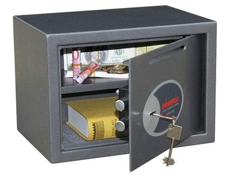 Image of Phoenix Vela Deposit Home & Office Security Safe with Key Lock 2020
