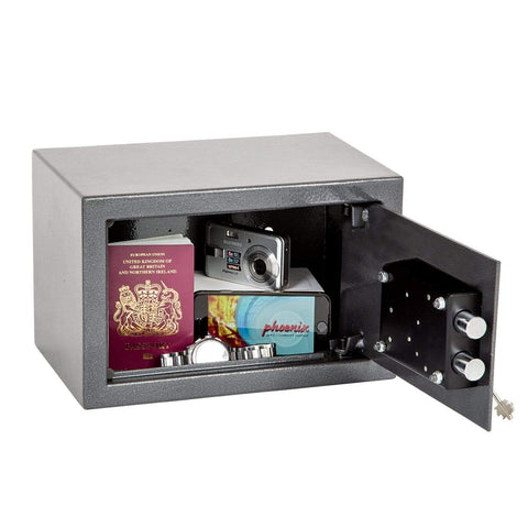 Image of Phoenix Vela Home & Office Security Safe With Key Lock In UK 2020