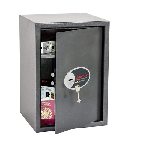 Phoenix Vela Home & Office Security Safe with Key Lock In UK 2020