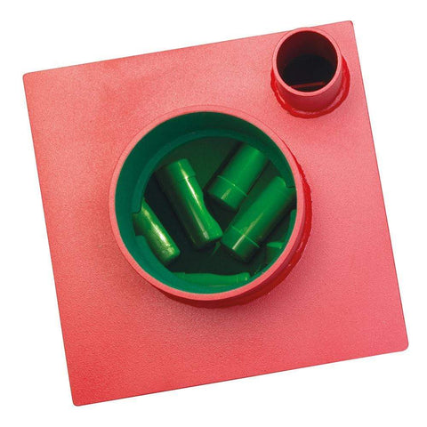 Image of Best Phoenix Charon (12″ Round Door) Underfloor Red Safe Lock In Uk