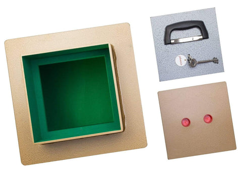 Phoenix Tarvos Underfloor £2K Safe With Key Lock, Gold 2020