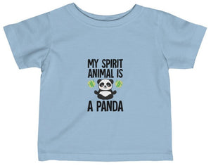 """Spirit Animal"" Short Sleeve Infant Fine Jersey T-shirt"