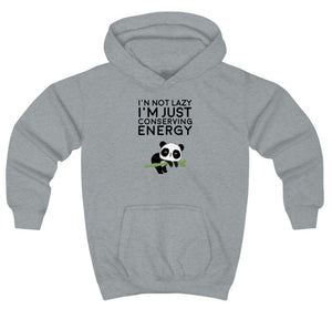 """Conserving Energy"" Kids Sweatshirt"