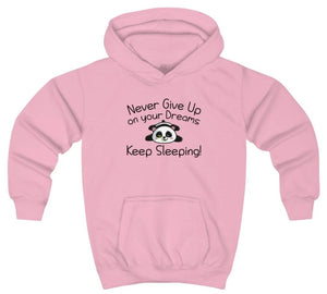 """Never Give Up On Your Dreams"" Kids Sweatshirt"