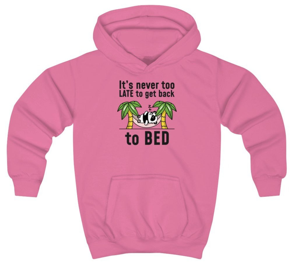 """Go Back to Bed"" Kids Sweatshirt"