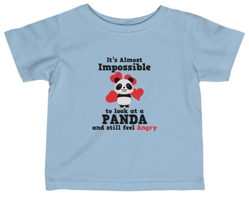 """Look At A Panda"" Short Sleeve Fine Jersey Tee"
