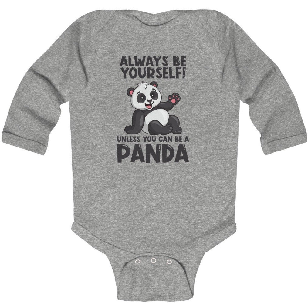 """Allways Be Yourself"" Baby Long Sleeve Bodysuit"