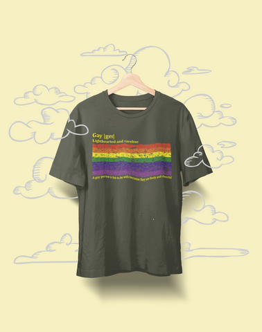 Lively & Cheerful - Organic cotton t-shirt