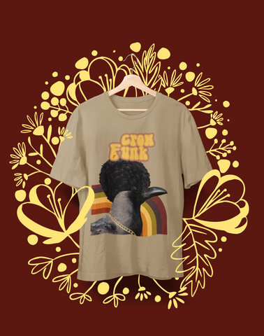 Crow Funk - Organic cotton t-shirt