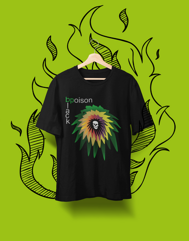 Black Poison  - Organic cotton t-shirt