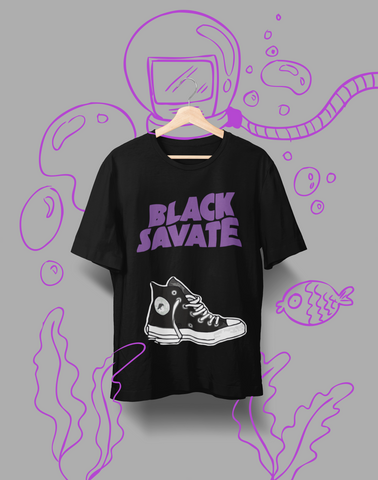 Black Savate - Organic cotton t-shirt