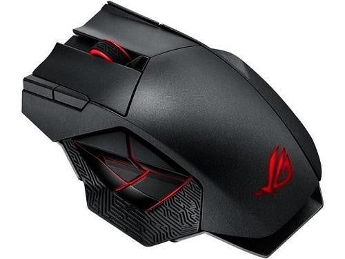 ASUS ROG Spatha Gaming Mouse RGB Wireless/Wired Laser Gaming Mouse - ECS Online Store