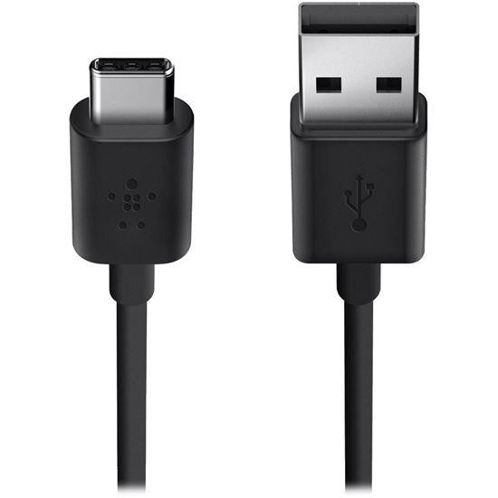 Belkin MIXIT↑™ 2.0 USB-A to USB-C™ Charge Cable 1.8 M (Black) - F2CU032BT06-BLK