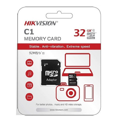 Hikvision 32GB MicroSD Card - HS-TF-C1/32G - ECS Online Store