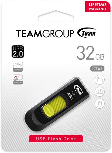 TeamGroup 32GB USB 2.0 C141 - TC14132GY01 - ECS Online Store