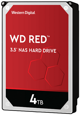 "WD Red 4TB NAS SATA 3.5"" Hard Drive - WD40EFAX - ECS Online Store"