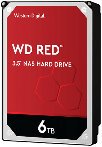 "WD Red 6TB NAS SATA 3.5"" Hard Drive - WD60EFRX - ECS Online Store"
