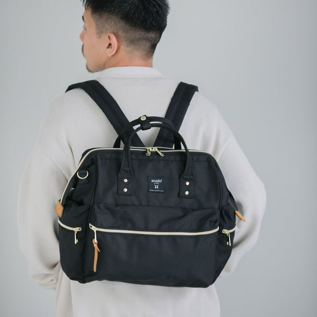 Anello Cross Bottle 3 Way Backpack