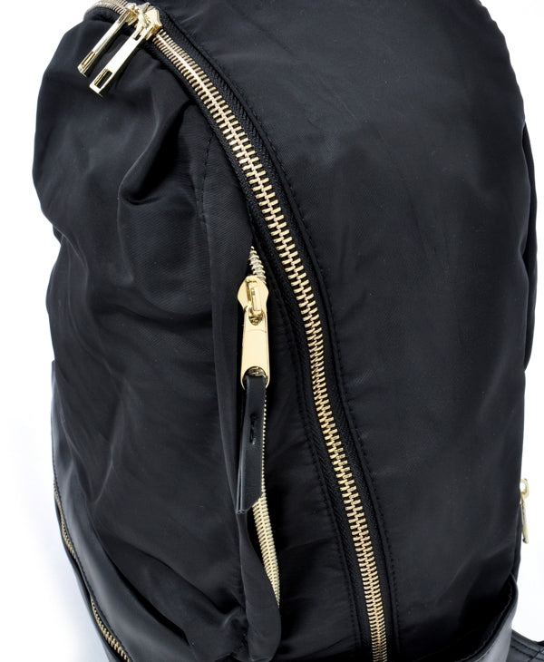 Anello Legato Nylon/Faux Leather Backpack - Te Koop