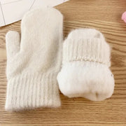 Double Layered Winter Mittens