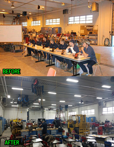 Eastland Career Center Updates Lighting With Green Lighting Wholesale