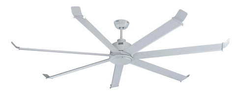 "Arctic Chill 7-Blade, 70"" Sweep, Wet Listed, White housing"