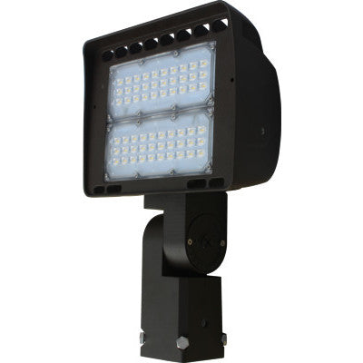 LED 80 Watt Flood Light- 10800LM, 4000K, 0-10V Dim 100-277V