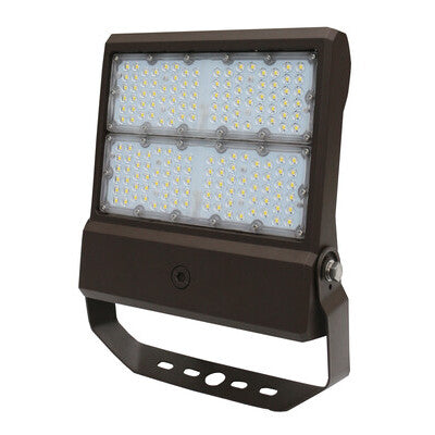 LED Flood Light 20,500lm 150 Watt 5000K 120-277V 0-10V Dim Yoke Mount
