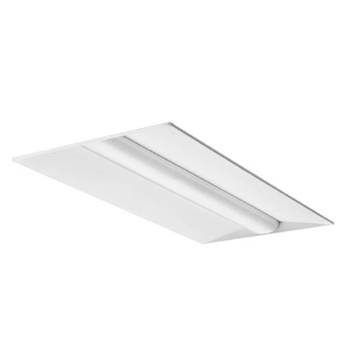 Lithonia Recessed Lighting Spacing: Lithonia Recessed LED 2x4 Basket Troffer Fixture In 3500K