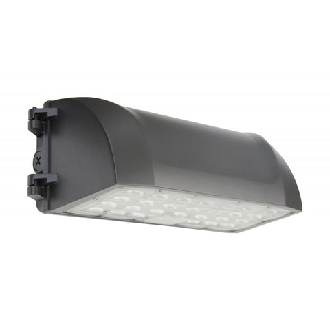 LED Wall Pack; CCT Selectable 3K-5K