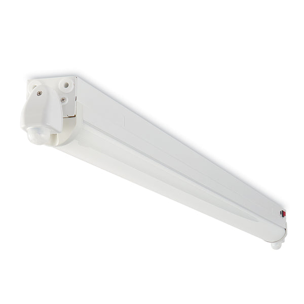 4 Ft. 5000K, LED Batten Motion Sensors And Emergency Backup