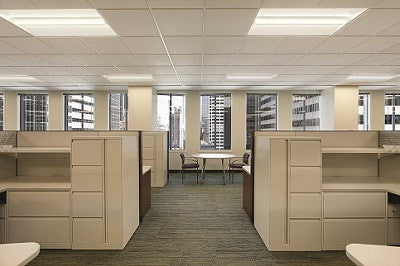 Lithonia recessed led 2x4 basket troffer fixture in 3500k mozeypictures Image collections