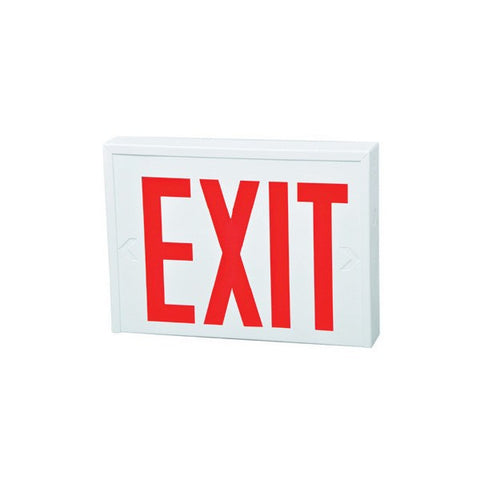 "New York 8"" Steel LED Exit"
