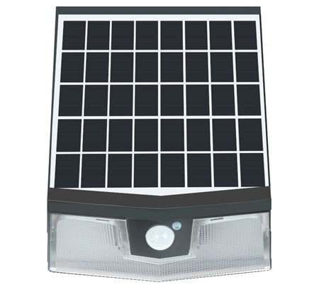 Light Efficient Design Solar Wall Pack, 15 Watt, 4000K