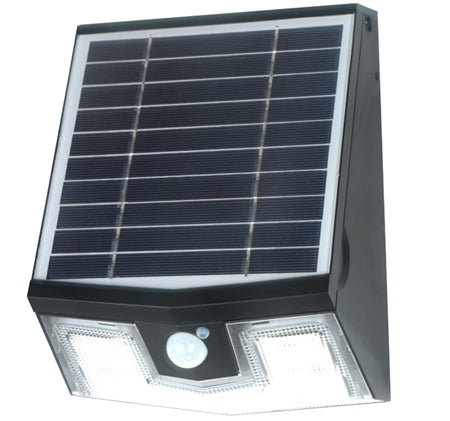 Light Efficient Design Solar Wall Pack, 7 Watt, 4000K