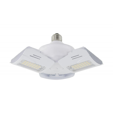 60 Watt LED Utility Light 4000K; Medium base; Adjustable Beam Angle