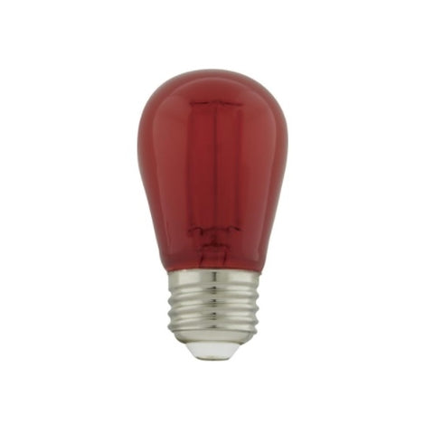 LED Red 1 Watt S14 LED Filament;