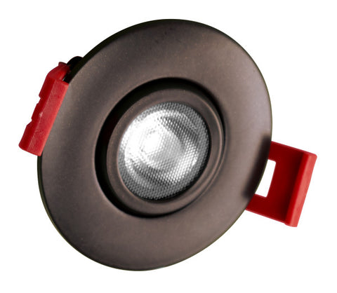 2-inch LED Gimbal Recessed Downlight in Oil-Rubbed Bronze, 2700K
