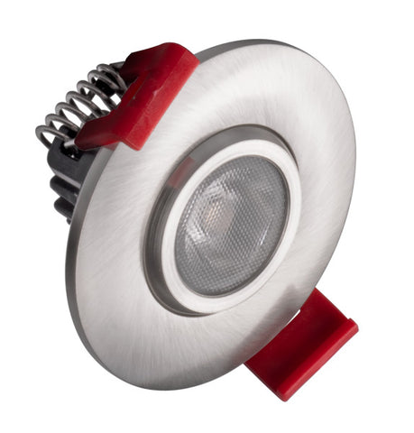 2-inch LED Gimbal Recessed Downlight in Nickel