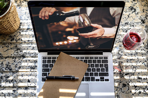 Online wine tasting events company