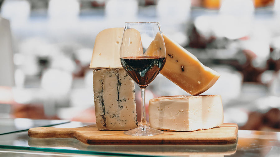 Red Heads: Online red wine and cheese tasting 5/2/21 (serves 2)