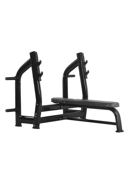 HMC COMMERCIAL FLAT BENCH WITH PLATE HOLDERS