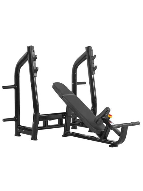 HMC Commercial Incline Bench with Plate holders