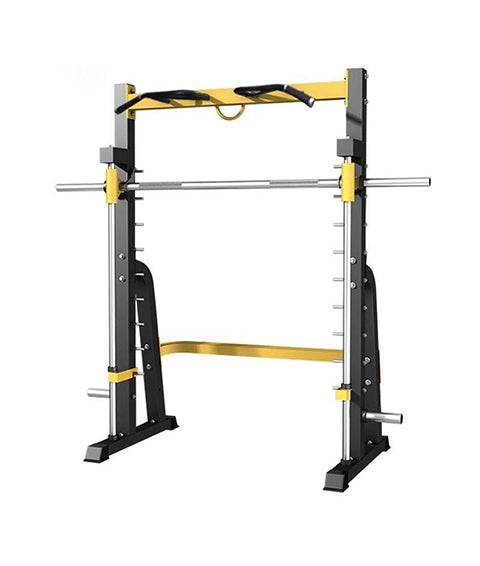 Multifunctional Smith Machine with Plate Holder
