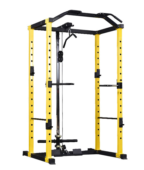 Power Rack with Lat Pulley