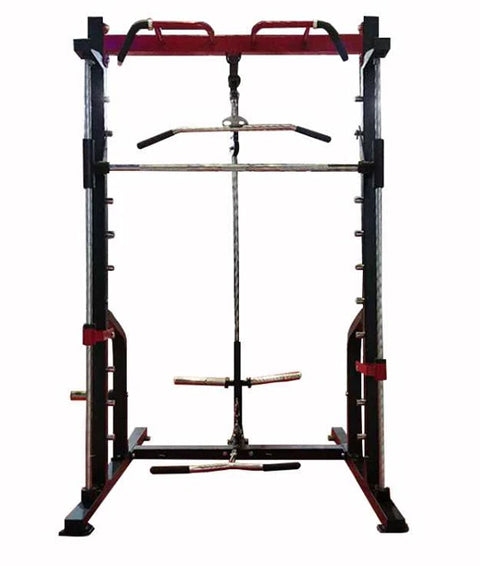 Smith Machine with High and Low Pulley