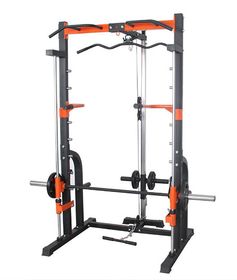 SMITH MACHINE WITH DUAL PULLEY