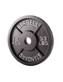 Power Bar & Cast Iron Plates (157.5KG) | In Stock