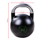 In Stock - Black Steel Competition Kettlebells - Catch Fitness - fitness equipment